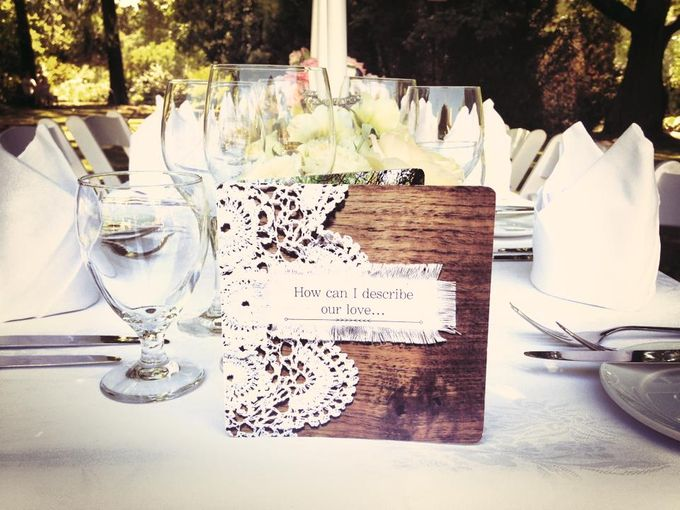 Wedding Invitations Custom Designed - Photographic by A Box Full of Matches - 001