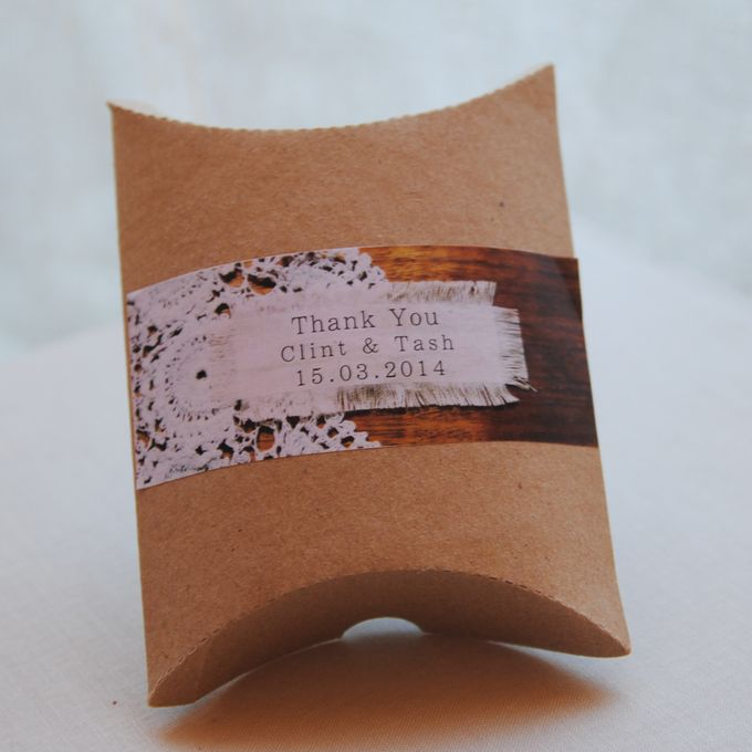 Wedding Invitations Custom Designed - Photographic by A Box Full of Matches - 012