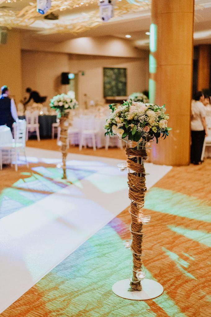 Wedding of Alson & Jolene by Rosette Designs & Co - 019