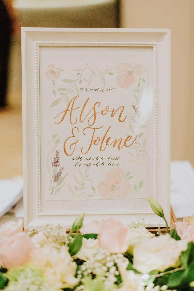 Wedding of Alson & Jolene by Rosette Designs & Co - 026