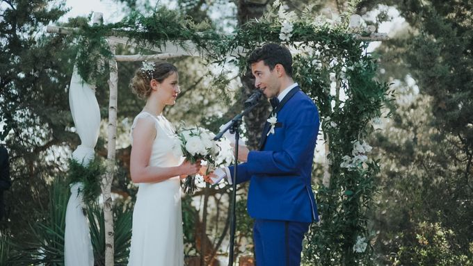 Mathilde & Mickael Wedding - French Riviera by Chromata Films - 007