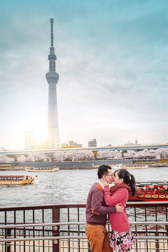 Spring Love - Japan Prewedding of Patrick & Devina by Picomo - 001