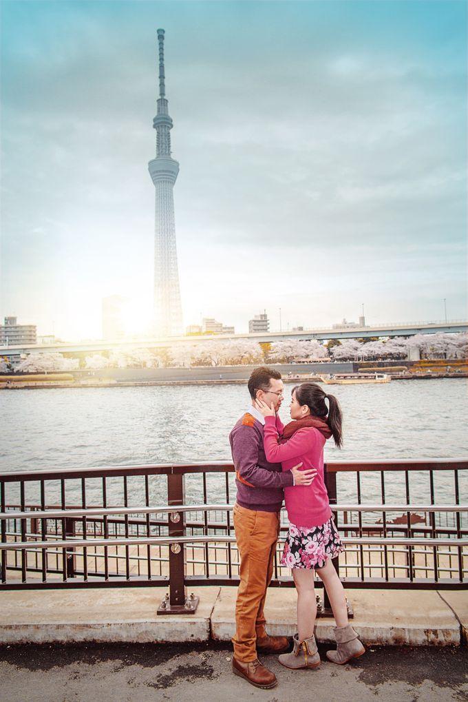 Spring Love - Japan Prewedding of Patrick & Devina by Picomo - 002