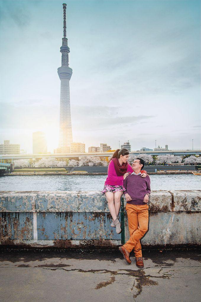 Spring Love - Japan Prewedding of Patrick & Devina by Picomo - 003
