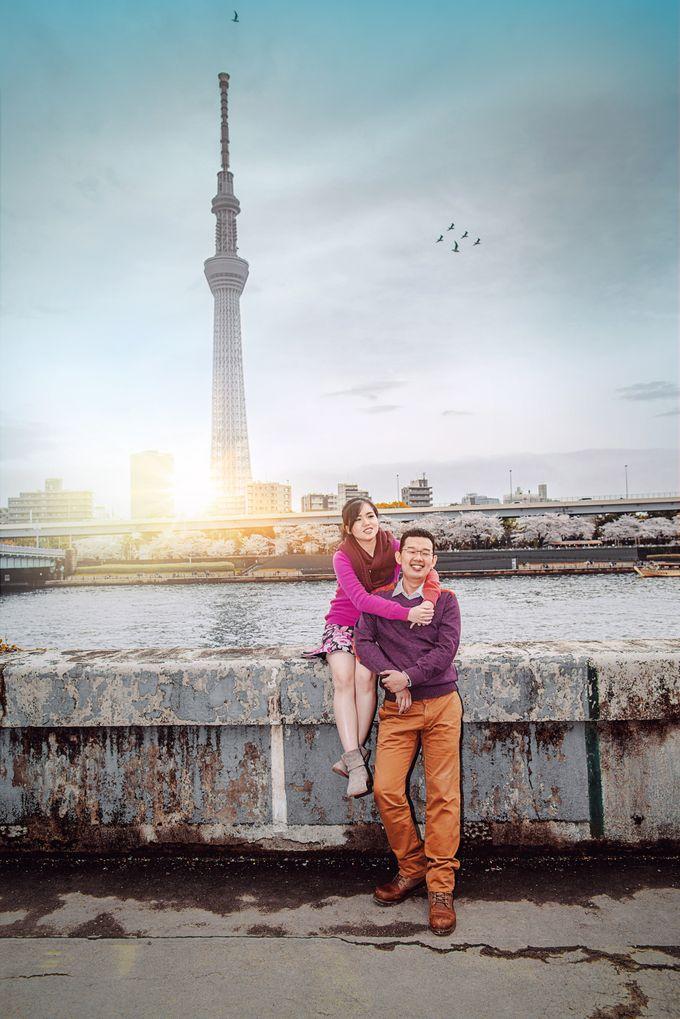 Spring Love - Japan Prewedding of Patrick & Devina by Picomo - 004