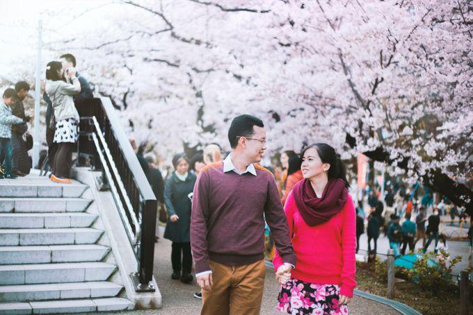 Spring Love - Japan Prewedding of Patrick & Devina by Picomo - 005