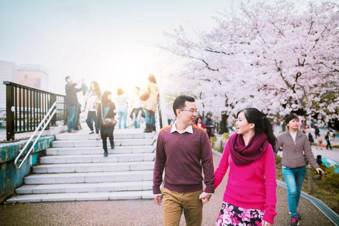 Spring Love - Japan Prewedding of Patrick & Devina by Picomo - 006