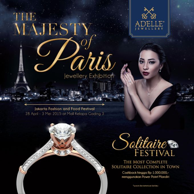 The Majesty of Paris by Adelle Jewellery - 001