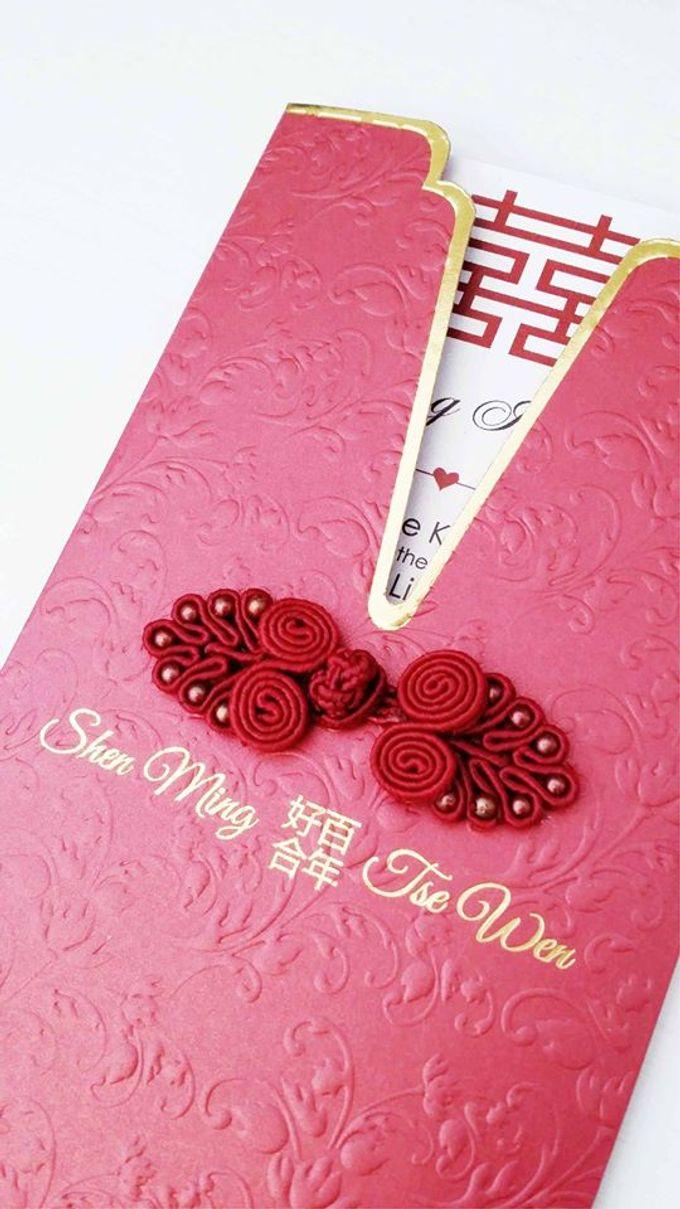 Custom Wedding Invitations by PAPEROSE WEDDING SDN. BHD ...