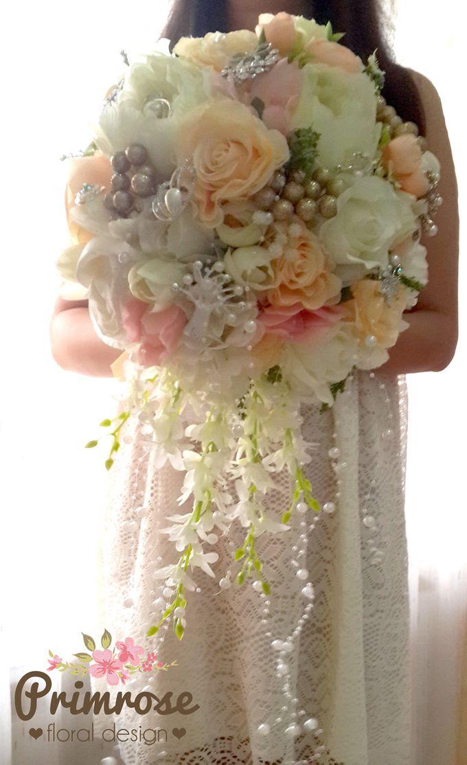 Wedding Bouquet - Handbouquet by Primrose Floral Design - 001