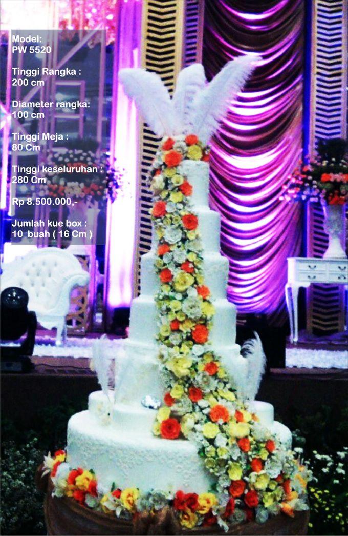 wedding cake 7 tiers by Pelangi Cake - 003