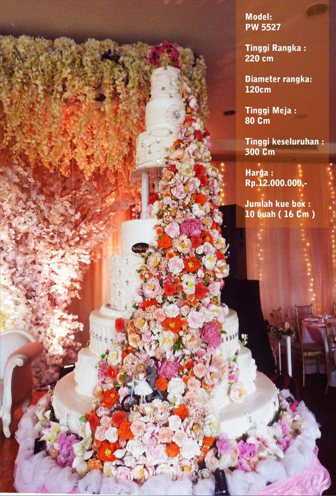 wedding cake 7 tiers by Pelangi Cake - 006