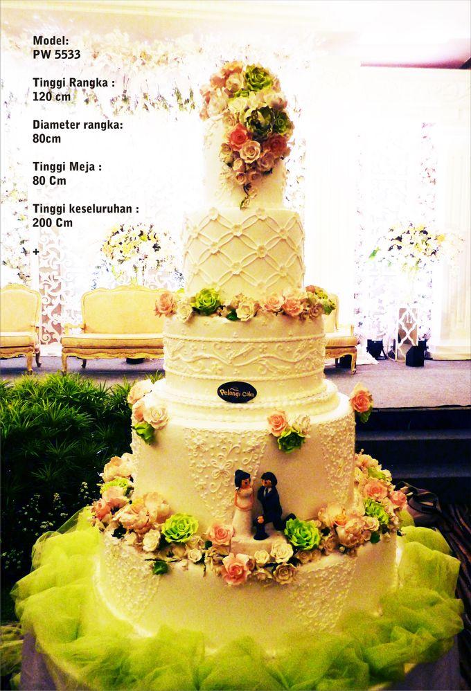 wedding cake by Pelangi Cake - 002