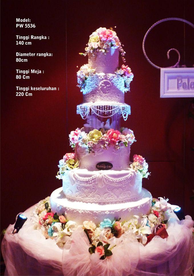 wedding cake by Pelangi Cake - 003