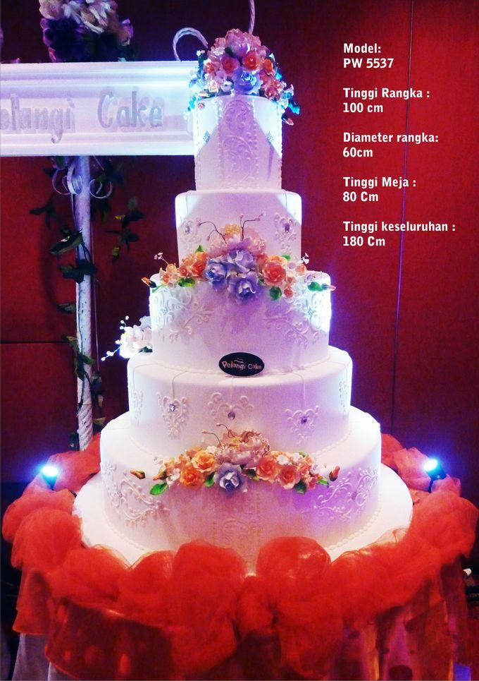 wedding cake by Pelangi Cake - 004