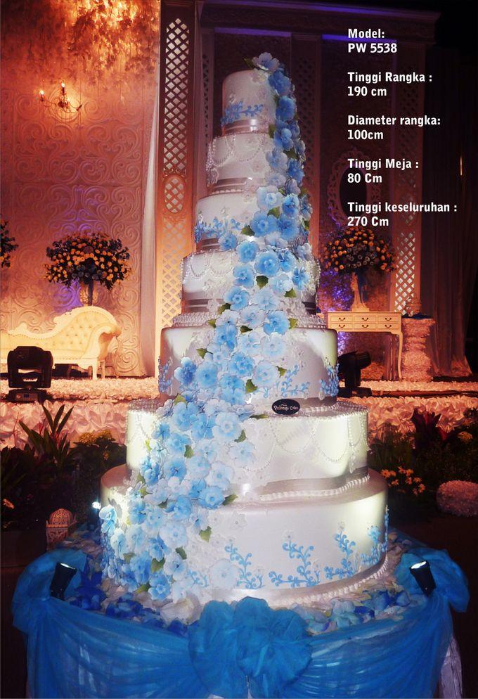 wedding cake by Pelangi Cake - 005