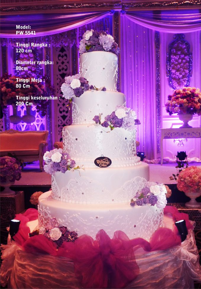 wedding cake by Pelangi Cake - 006