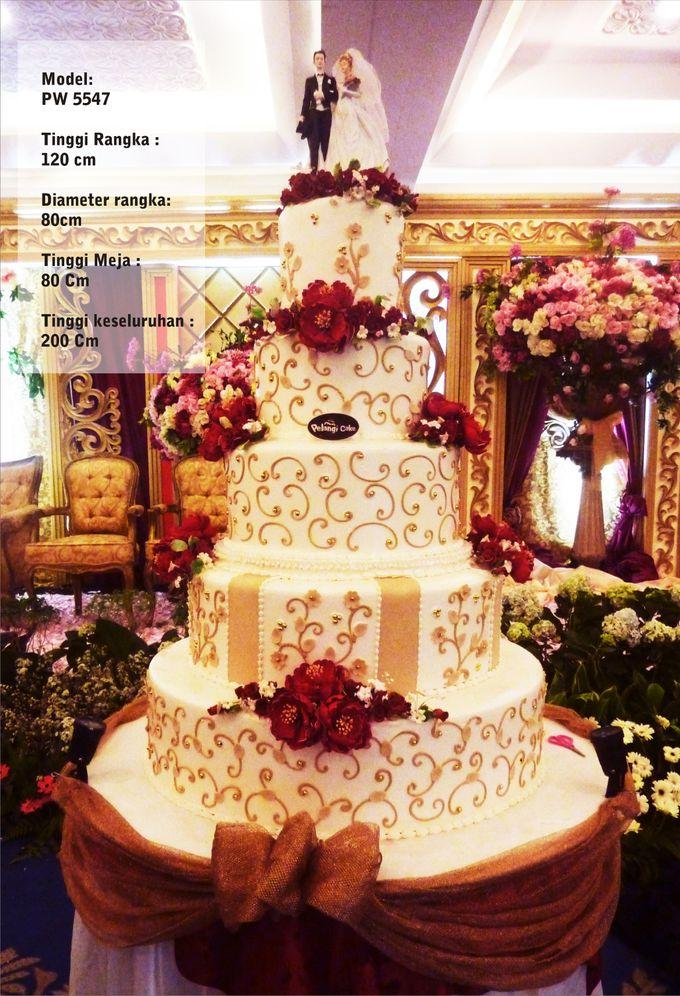 wedding cake by Pelangi Cake - 008