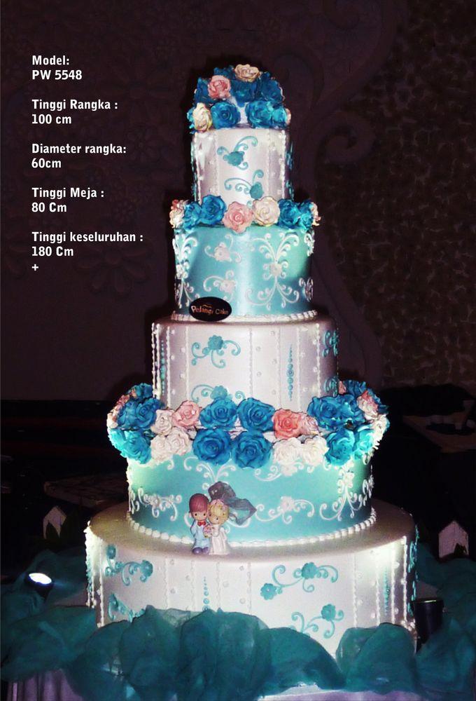 wedding cake by Pelangi Cake - 009
