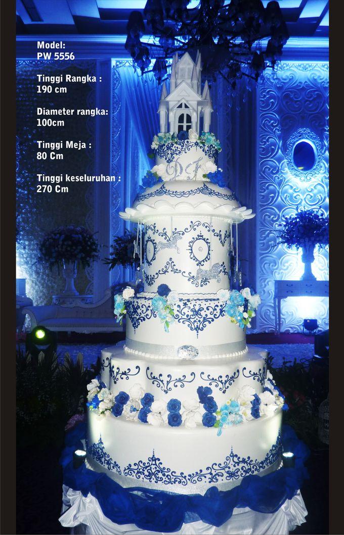 wedding cake by Pelangi Cake - 011