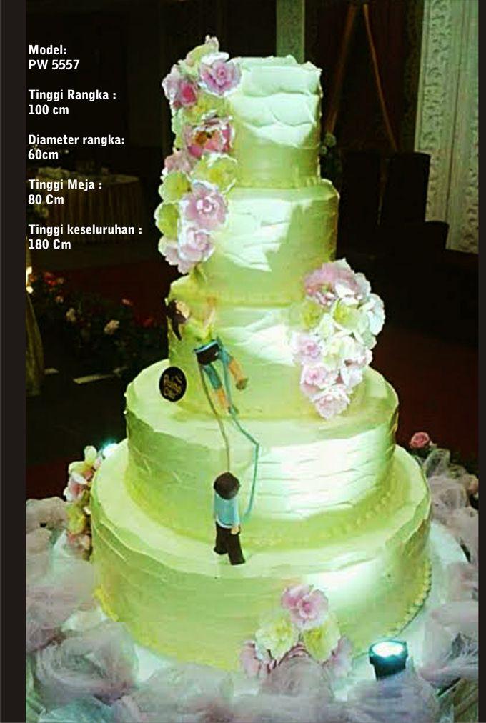 wedding cake by Pelangi Cake - 012