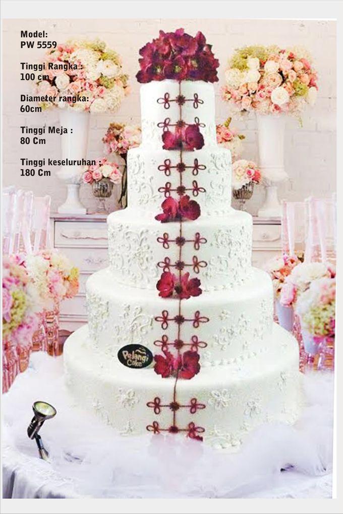 wedding cake by Pelangi Cake - 013