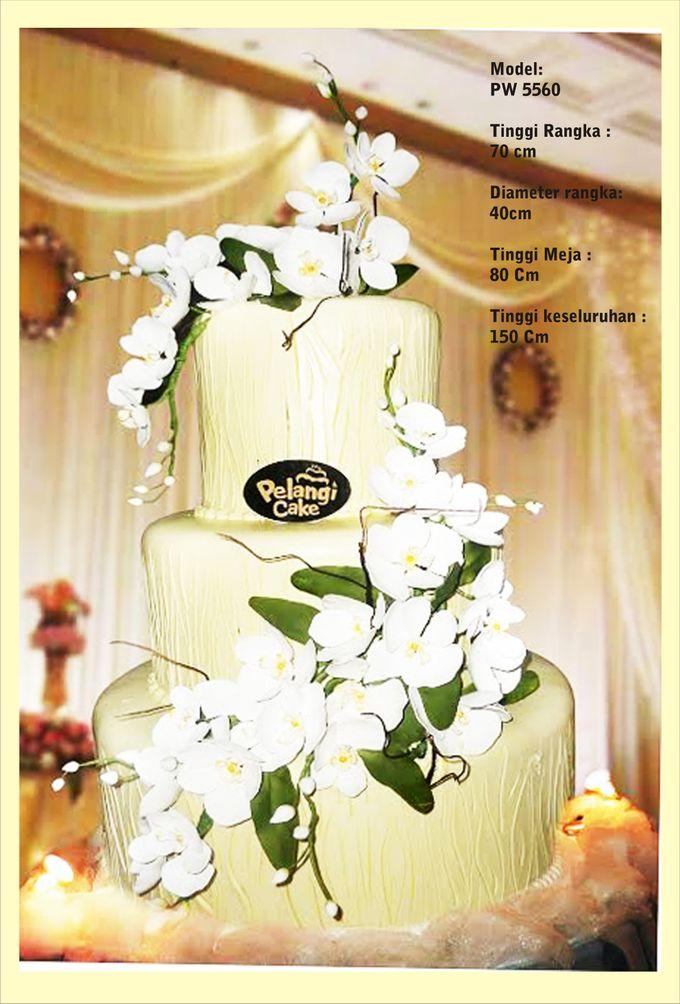 wedding cake by Pelangi Cake - 014