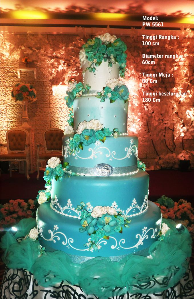 wedding cake by Pelangi Cake - 015