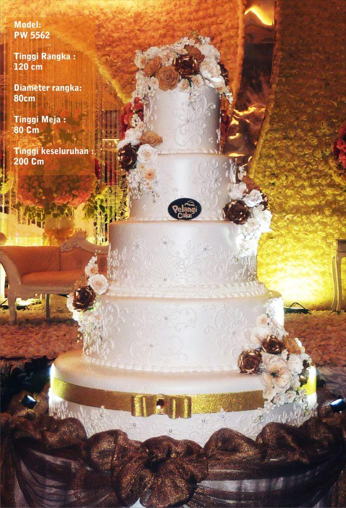 wedding cake by Pelangi Cake - 016
