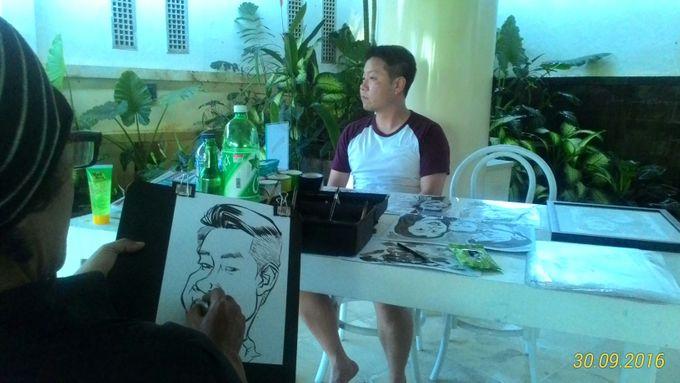 CARICATURE ON THE SPOT by Bali Karikatur - 003