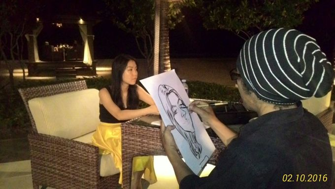 CARICATURE ON THE SPOT by Bali Karikatur - 001