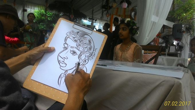 CARICATURE ON THE SPOT by Bali Karikatur - 004