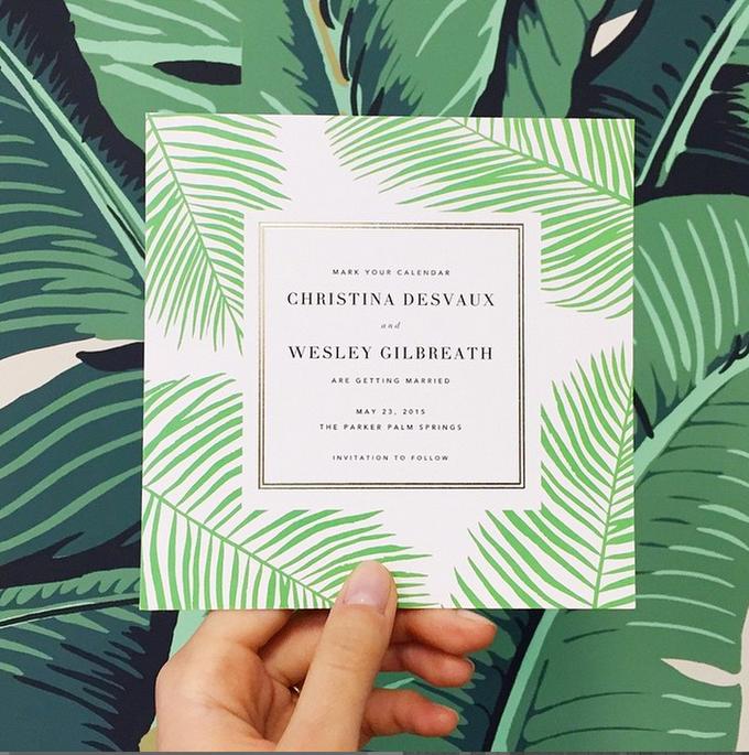 Oscar de la Renta wedding invitation by Paperless Post - 002