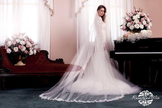 Wedding Veils by Rosalynn Win Haute Couture - 001