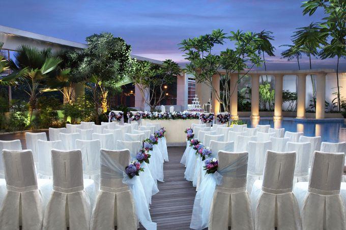 Park Hotel Clarke Quay Poolside Wedding - Evening by Park Hotel Clarke Quay - 003