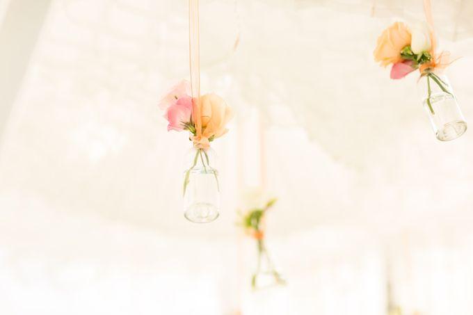 Peachy Pink by Tirtha Bridal - 006