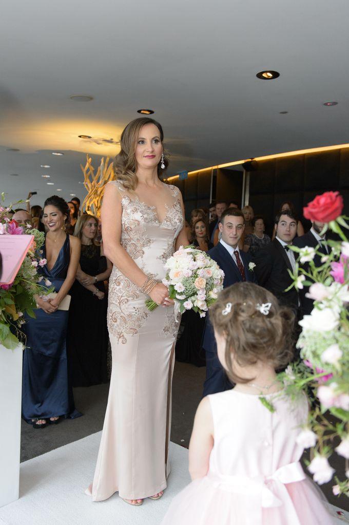 Modern Contemporary Wedding by SPARKLEBOX - 043