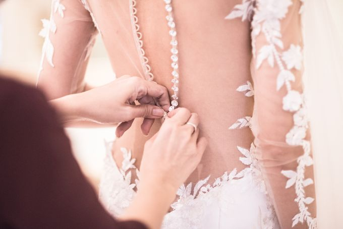 Actual Wedding Day - Peter & Jessica Solemnization by A Merry Moment - 013
