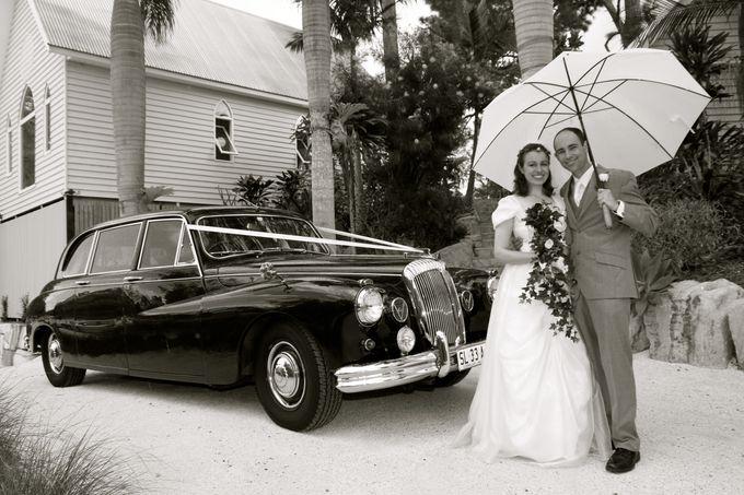 Classic Daimler major Magestic Wedding Car by Tic Tac Tours & Premier Limousines - 013