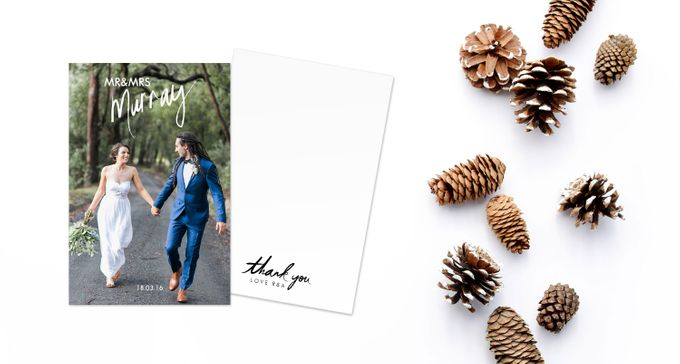 Thank You Cards (Portrait Style) by For the Love of Stationery - 005