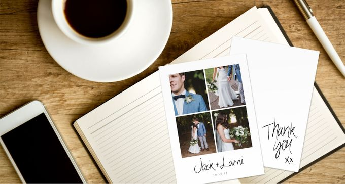 Thank You Cards (Portrait Style) by For the Love of Stationery - 001