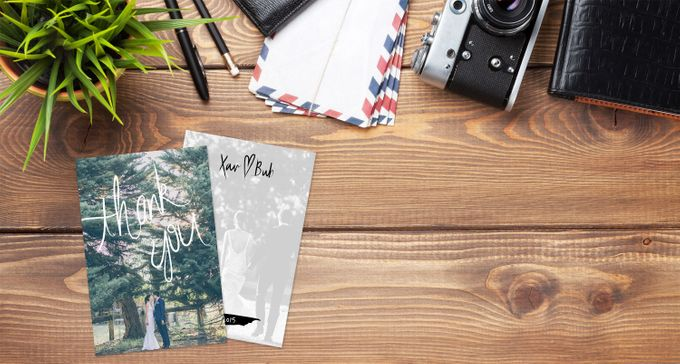 Thank You Cards (Portrait Style) by For the Love of Stationery - 003