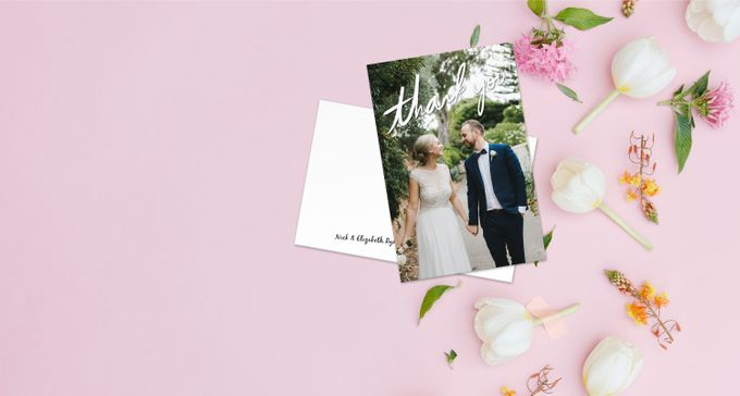 Thank You Cards (Portrait Style) by For the Love of Stationery - 002