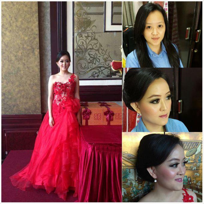 Engagement Makeup by Xinxin Make Up - 003