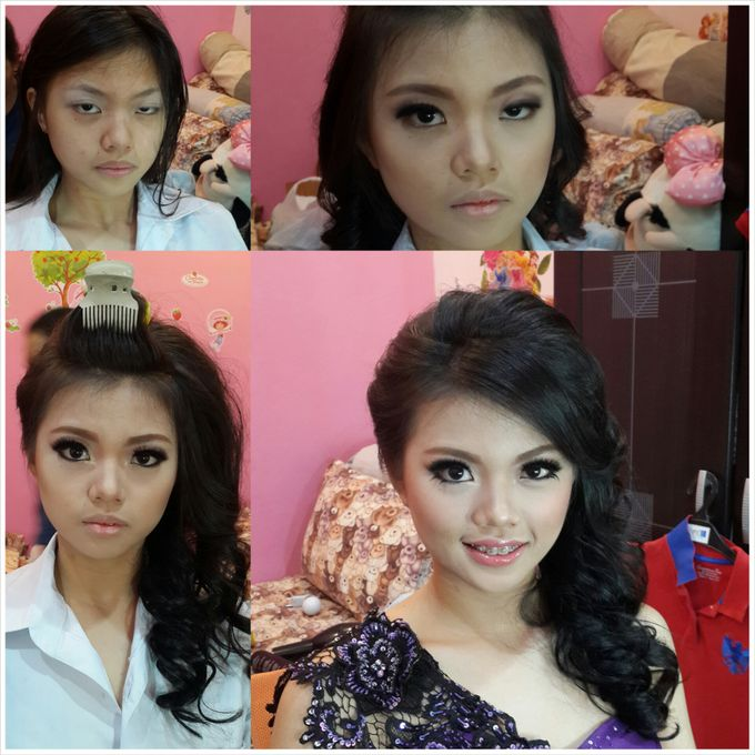 Presweet 17 and sweet 17th by Xinxin Make Up - 002