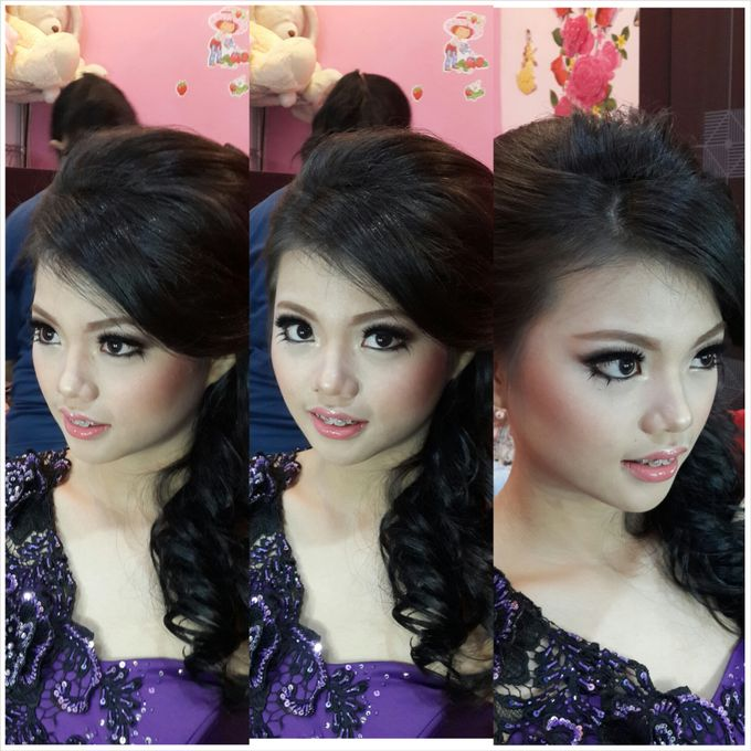 Presweet 17 and sweet 17th by Xinxin Make Up - 001