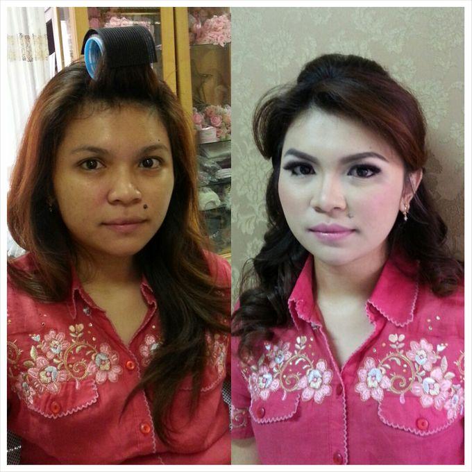 Party Make Up & Hair Do by Nikita Anggoro - 006