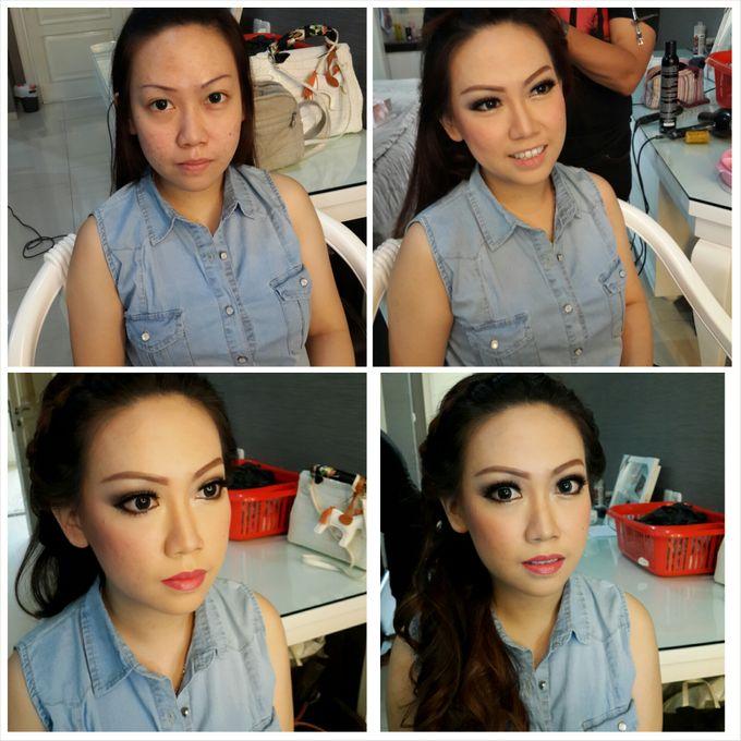Engagement Makeup by Xinxin Make Up - 008