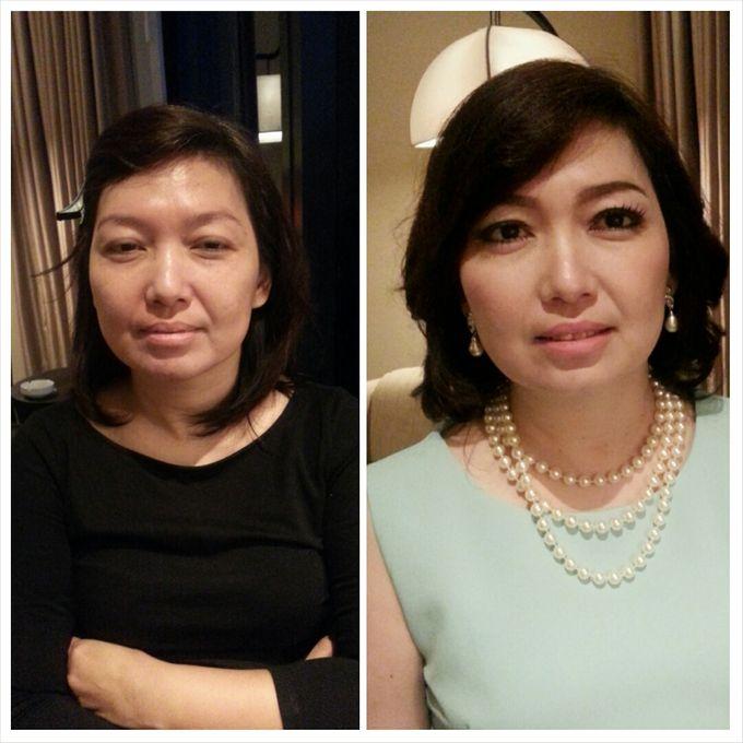 Party Make Up & Hair Do by Nikita Anggoro - 007