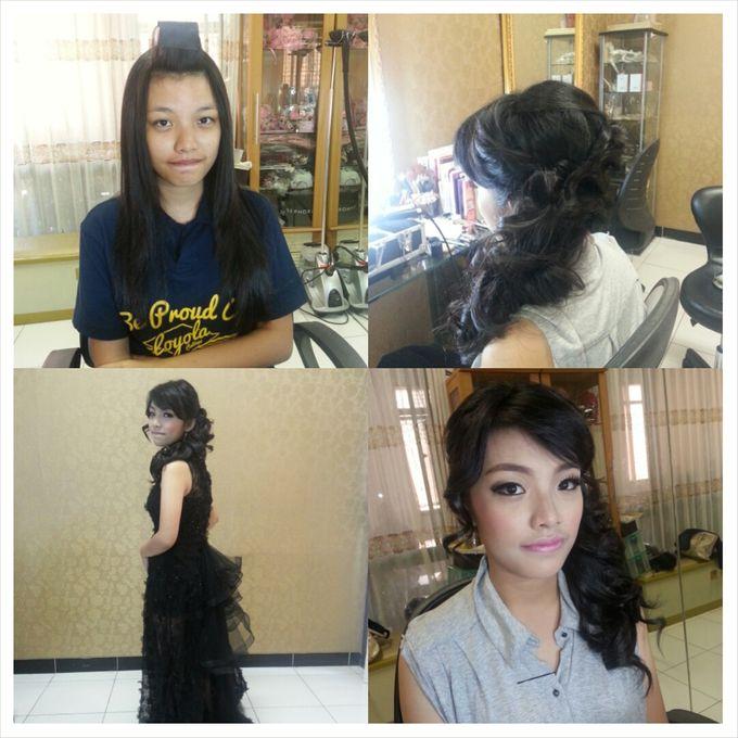Party Make Up & Hair Do by Nikita Anggoro - 011